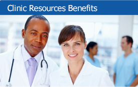 Clinic resources benefits